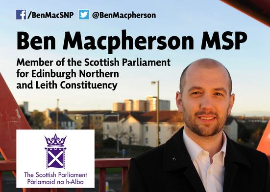 Ben Macpherson MSP Surgeries and contact information